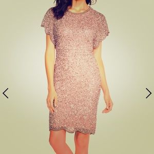 NWT Adrianna Papell beaded dress